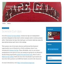 Science Cut Ups – STEMlinks.org