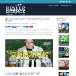 9 Science Demos That Will Leave Your Students Begging For More