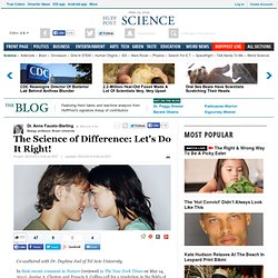 The Science of Difference: Let's Do It Right!