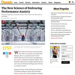 The New Science of Embracing Performance Anxiety