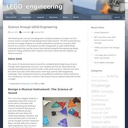 Science Through LEGO Engineering Curricula