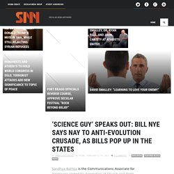 » 'Science Guy' Speaks Out: Bill Nye Says Nay To Anti-Evolution Crusade, As Bills Pop Up In The States