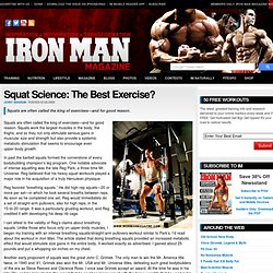 Squat Science: The Best Exercise?