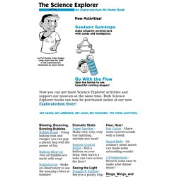 Science Explorer: At Home Science Projects