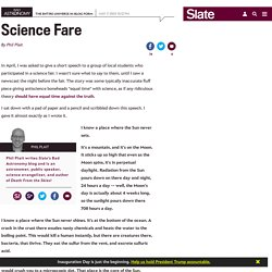 Science Fare