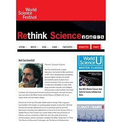 World Science Festival Neil Gershenfeld