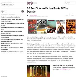 20 Best Science Fiction Books Of The Decade