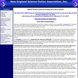 NESFA Science Fiction & Fantasy Short Story Contest