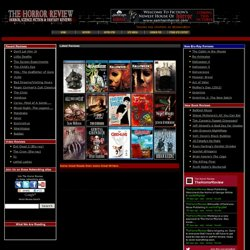 The Horror Review: Horror Science Fiction Fantasy Movie Reviews / Book Reviews / Movie Posters for Sale/ Est:1999