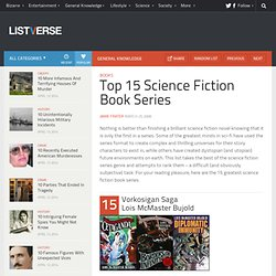 Top 15 Science Fiction Book Series - Top 10 Lists