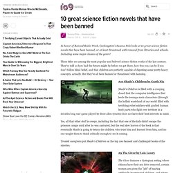 10 great science fiction novels that have been banned - io9 - StumbleUpon