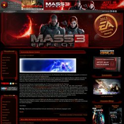 Mass Effect - das Science-Fiction Rollenspiel von Bioware - Home