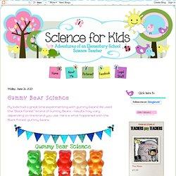 Gummy Bear Science