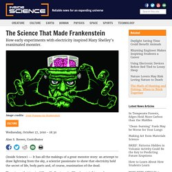 The Science That Made Frankenstein