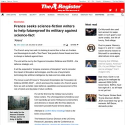 France seeks science-fiction writers to help futureproof its military against science-fact