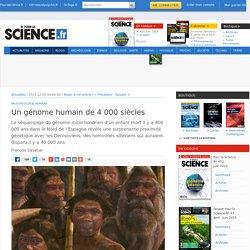 Un génome humain de 4000 siècles