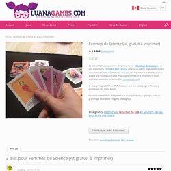 Femmes de Science (kit gratuit à imprimer)