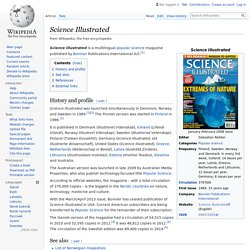 Science Illustrated - Wikipedia