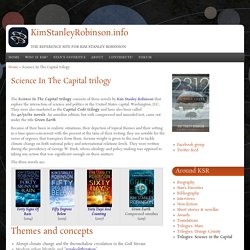 Science In The Capital trilogy