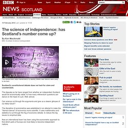 The science of independence: has Scotland's number come up?