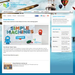 Online Science | Simple Machines
