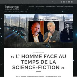 """L' Homme face au temps de la science-fiction"""