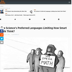 Does Science Suffer Internal Language Limits?