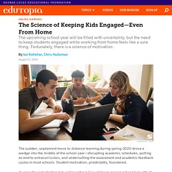 The Science of Keeping Kids Engaged—Even From Home
