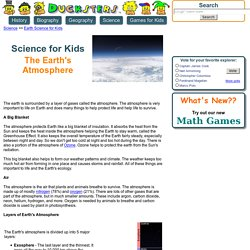 Science for Kids: Earth's Atmosphere