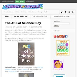 Science for kids - science play
