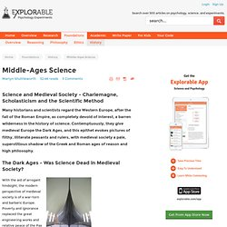 Middle-Ages Science - Medieval Period - History of Science