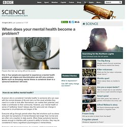 BBC - Health: Mental health