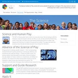 The Science - National Institute for Play