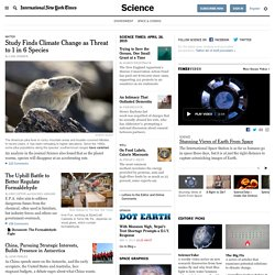 Science News - The New York Times