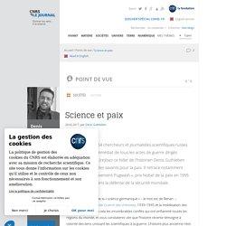 Science et paix
