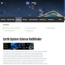 Earth System Science Pathfinder