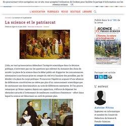 La science et le patriarcat, artcile d'Antoine Pitrou pour l'AFIS