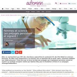 Femmes et science : Les préjugés persistent et signent