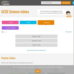 GCSE Science Resources, GCSE Biology, Physics and Chemistry