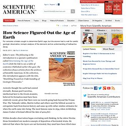 How Science Figured Out the Age of the Earth