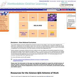 Science ks1 & ks2 teaching resources