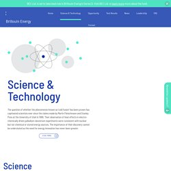 Science & Technology - Brillouin Energy // Brillouin Energy