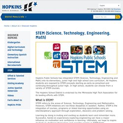 STEM (Science, Technology, Engineering, Math)