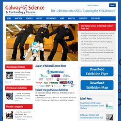 Galway Science & Technology Festival