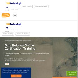 Data Science Online Training and Certification Course