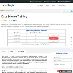 Live Data Science Training Classes by Data Science Experts