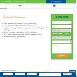 Data Science Training in Noida - Amazon Web Services - Request DEMO Class