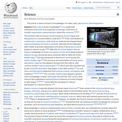 Science - Wikipedia