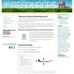 Science World Resources