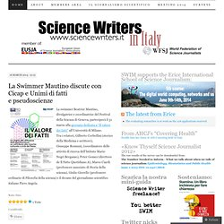 SWIM | Science Writers in Italy